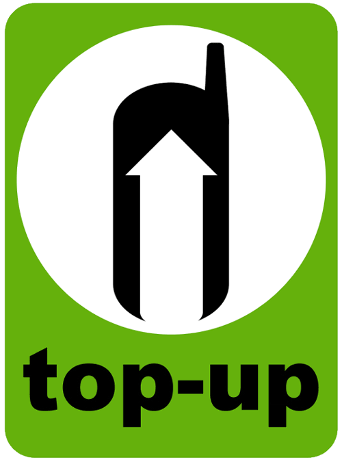 You can top up your UK sim card at any shop in the UK that displays the green top-up logo.
